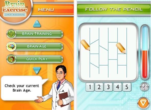Brain Exercise with Dr. Kawashim