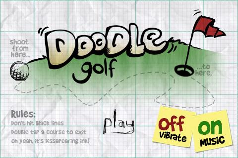 Doodle Golf Appventcalendar iPhone