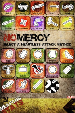 NoMercy iPhone Weapons