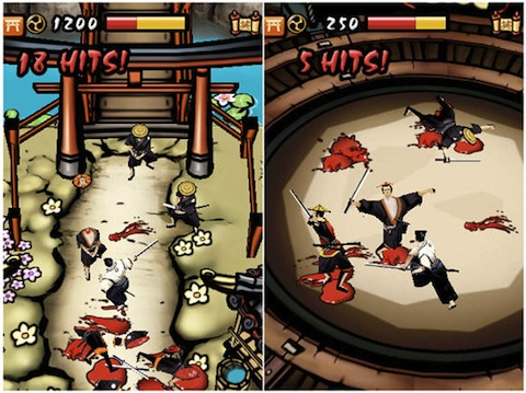 Samurai Way of the Warrior iPhone Appstore