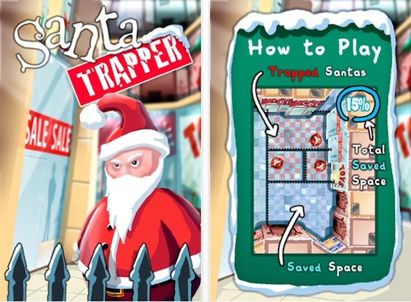 Santa Trapper Online iPhone appventcalendar