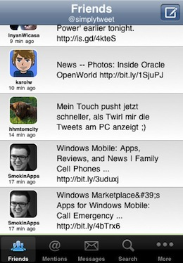 SimplyTweet Twitter with Push Notifications