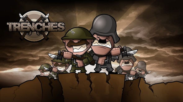 Trenches WWI warfare game from Thunder Game Works
