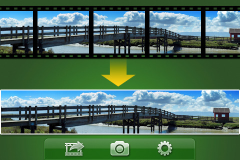 Video Panorama records video and creates panoramic photos