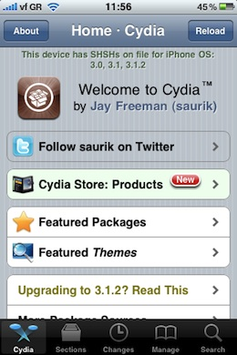 Cydia Featured Themes