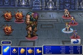 Final Fantasy II iPhone