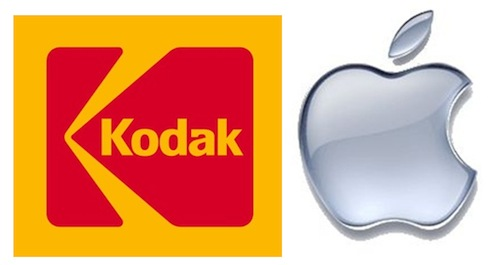 Kodak sues Apple, RIM