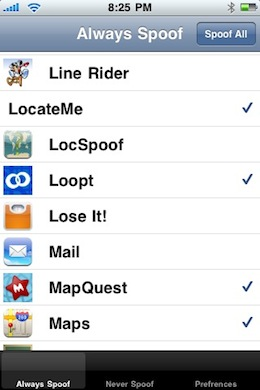 Location Spoofer iPhone