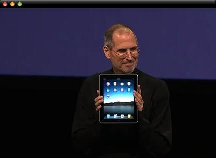 Steve iPad