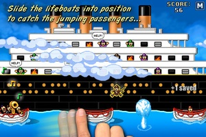 Titanic Rescue iPhone
