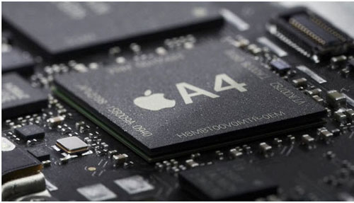iPad A4 ARM Coretex-A9 MPCore processor