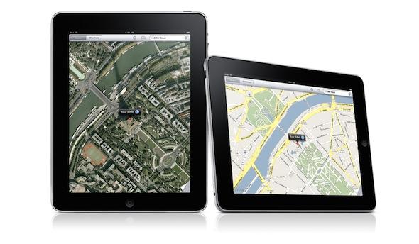 iPad Maps