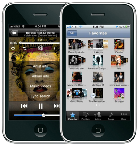iRemix iPhone iPod Player