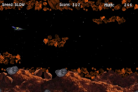 Asteroid Runner iPhone