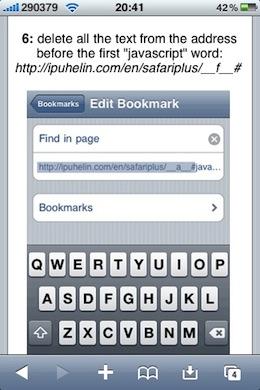 Safari plugins iPhone pic4