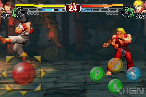 Street Fighter IV iPhone Appstore