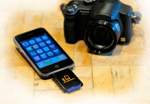 ZoomIt SD Card Reader for the iPhone