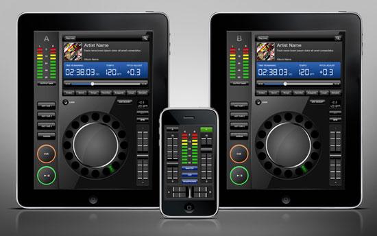 iPad Dj Concept