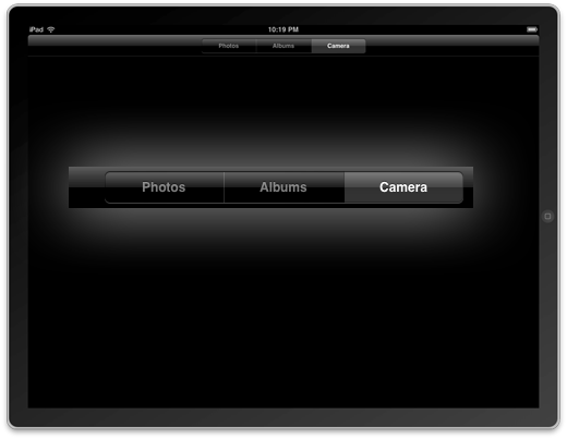 iPad camera iPhone SDK 3.2 beta 3