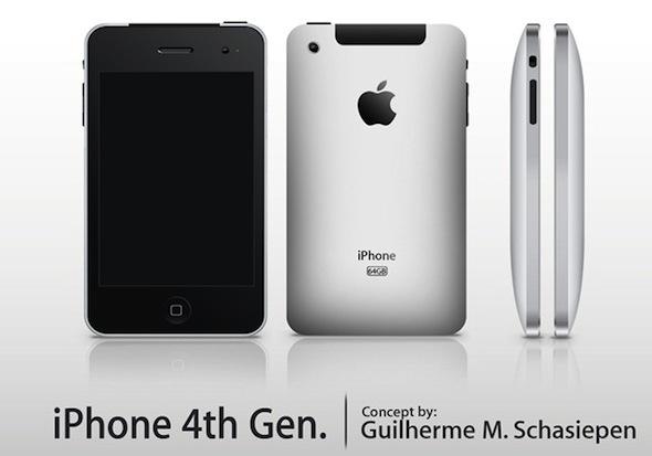 iPhone 4G iPad-like concept