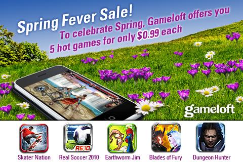 Gameloft Spring Sale