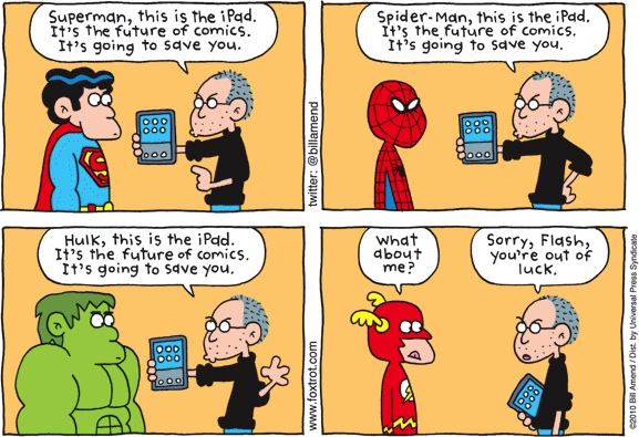 The One Superhero the iPad Can't Save