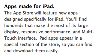 iPad Apps on App store