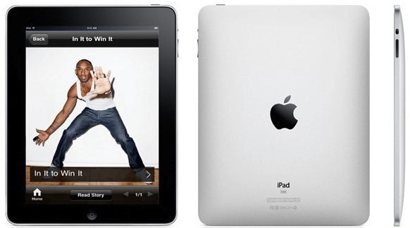 iPad Conde Nast