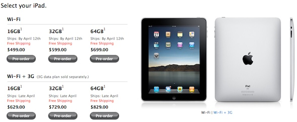 iPad Shortage