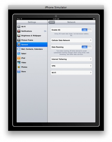 iPad network settings pic2