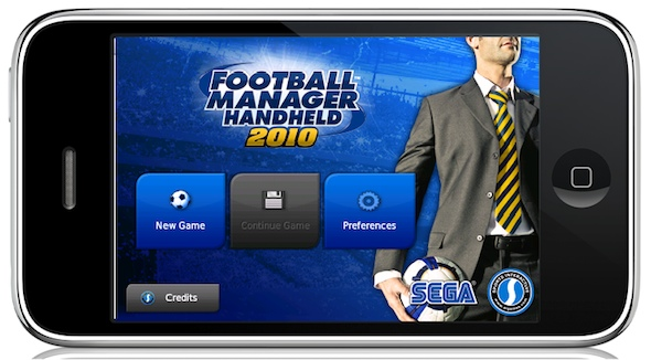 Football Manager 2010 for iPhone