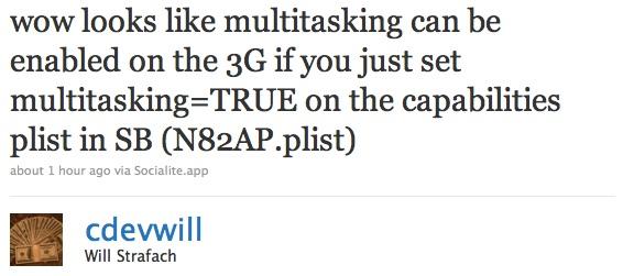 cdevwill multitask 3G