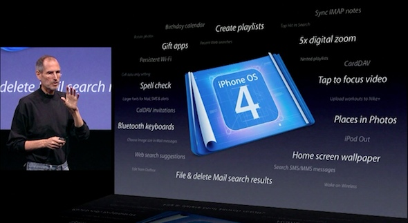 iPhone OS 4.0 Preview Keynote