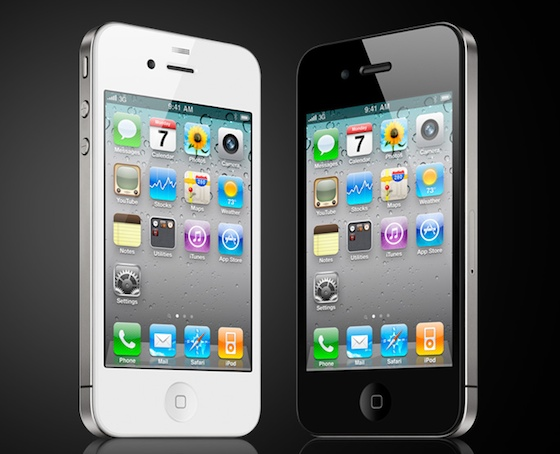 Μαυρο η Ασπρο iPhone; IPhone-4-white-black
