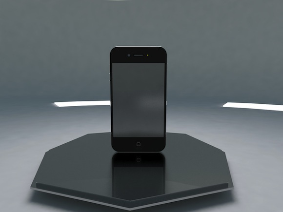 iPhone 5 front concept