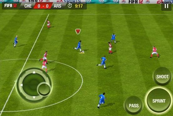 FIFA 2012 iPhone