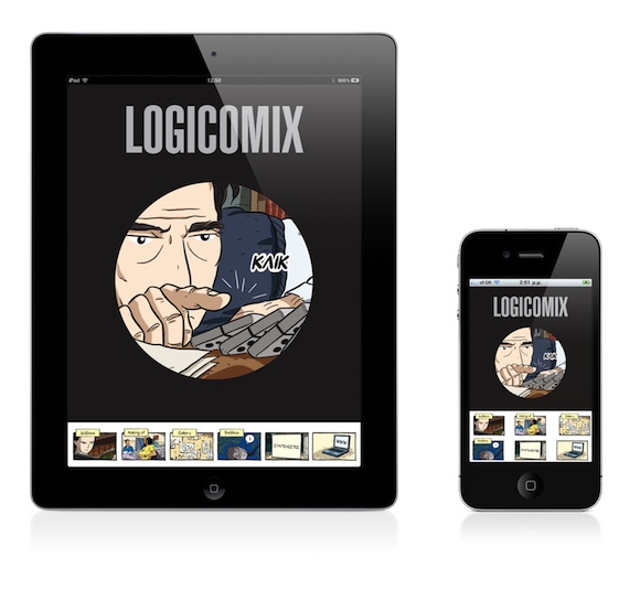 Logicomix iPad iPhone