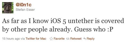 iOS 5 untethered jailbreak i0nic