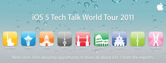 iOS 5 Tech Talk World Tour 2011