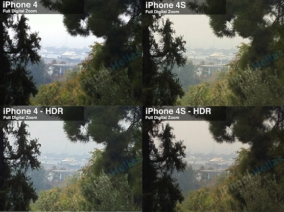 iPhone 4S vs iPhone 4: Photos with digital zoom
