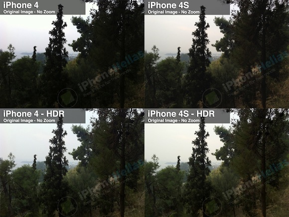 iPhone 4S vs iPhone 4 Photos comparison