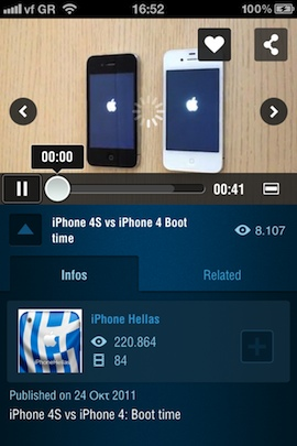 Dailymotion iPhone iPad iPod touch v2 pic2