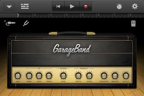 GarageBand iPhone