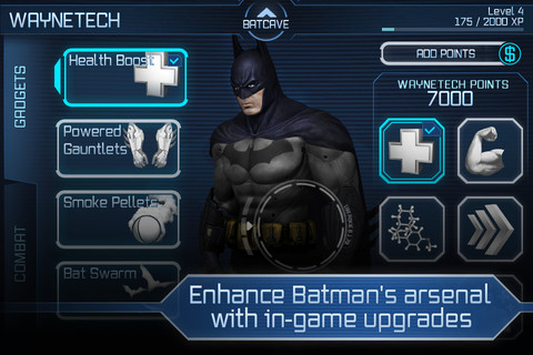 Batman Arkham City Lockdown iOS 3