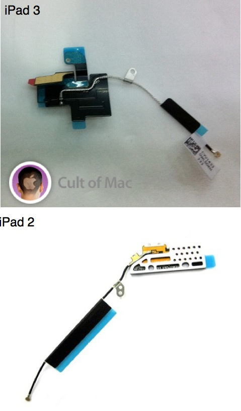 iPad 3 Wi-Fi components