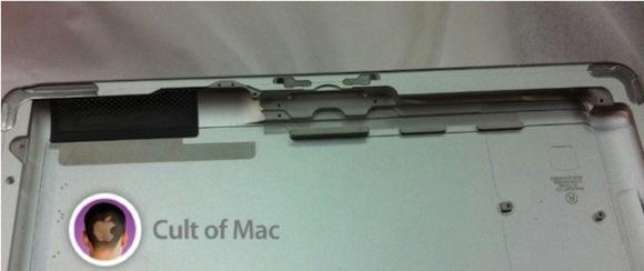 iPad 3 rear panel bottom