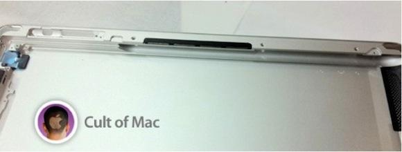 iPad 3 rear panel side