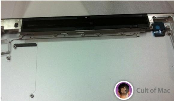 iPad 3 rear panel top