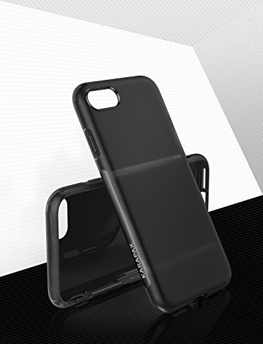 Anker KARAPAX Touch Case for 2017 New iPhone 4.7'' Slim Matte Case- Black