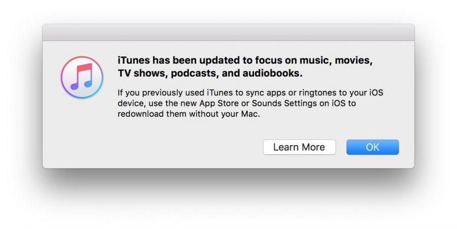 iTunes 12.7 for Mac removes iOS app store | Macworld